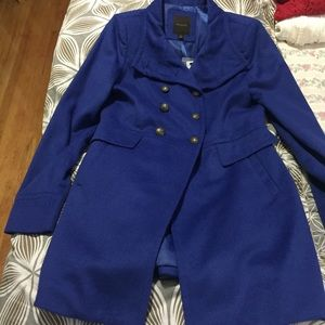 the Limited Blue Wool Coat NEW!
